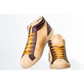 Campo & Jara - Original bota tenis acabada en corcho natural