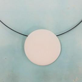 Alboroque - Gargantilla redonda de porcelana