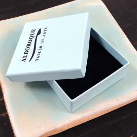 Alboroque - Pendientes de porcelana pequeños