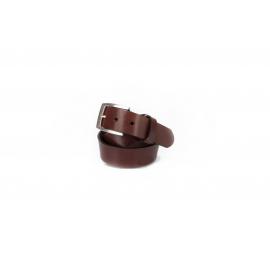 Cinturon piel marron