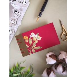 Ouro -Cuaderno Jar hecho a mano