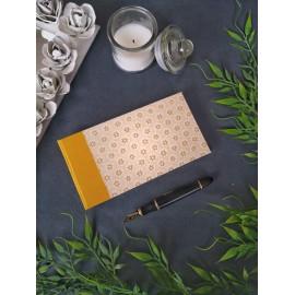 Ouro - Cuaderno 'Vintage' hecho a mano