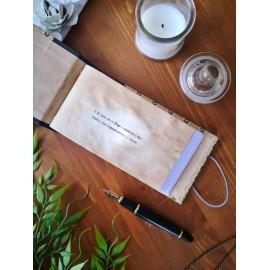 Ouro - Cuaderno 'Zhi' hecho a mano