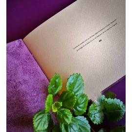 Ouro - Álbum de fotos 'Morado y Verde' hecho a mano
