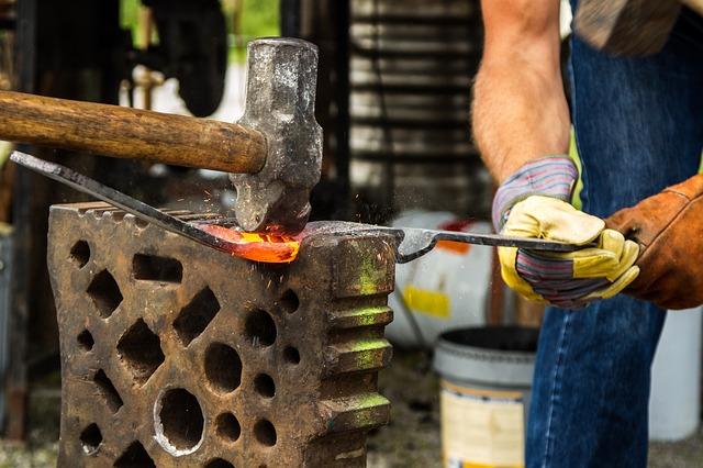 Proceso de la forja: arte y creación