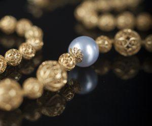 6 - Collar - Oro 18K y perla australiana